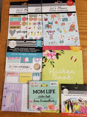 Sticker planner books for Sale in Wenatchee, WA