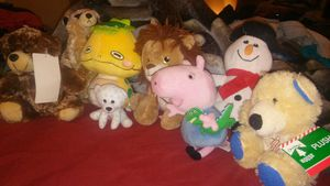 8 stuffed animals for Sale in Columbus, OH