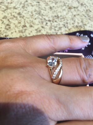 Best Gift Yellow Gold Plated Rings Garnet Rings for women Fashion Jewelry size 6 $8 for Sale in Avondale, AZ