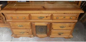Wood dresser for Sale in Euclid, OH