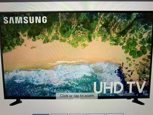 Samsung series 55 inch (2160p) Jud smart led tv with HDR 2018 model for Sale in Edison, NJ