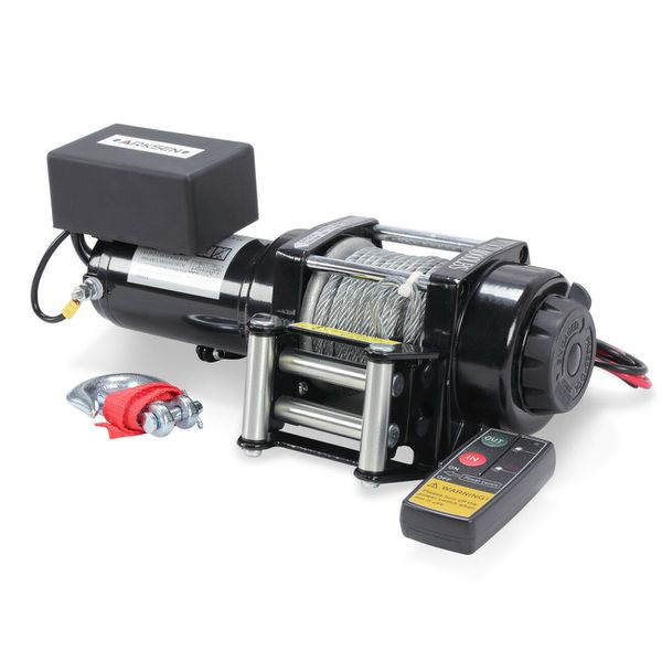 12V 4000lbs Recovery Electric Winch Towing ATV Trailer Wireless Remote 20462