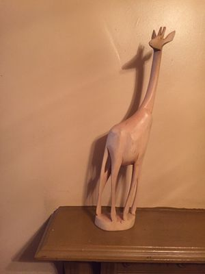 HAND CRAFTED WOOD DEER for Sale in Washington, DC