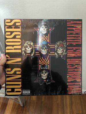 Guns 'N Roses Appetite for Destruction LP Vinyl Record Brand New for Sale in Culver City, CA
