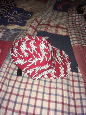 Supreme script hat for Sale in Campbell, CA