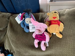 Winnie the Pooh, Eeyore, and Piglet for Sale in Mesa, AZ