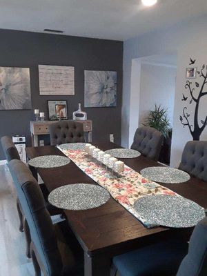 600 for the kitchen table w 6 chairs pls contact {contact info removed} for Sale in Chula Vista, CA