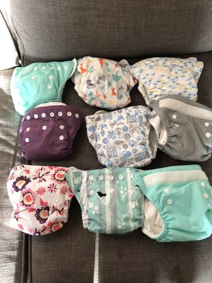 Thirsties newborn cloth diapers AIO for Sale in Ontario, CA