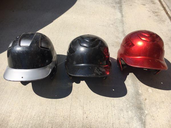 Baseball Helmets All three for $12