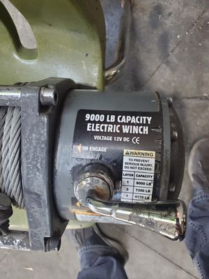 9000lb winch for Sale in Baldwin Park, CA