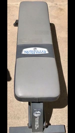 FLAT WEIGHT BENCH for Sale in San Diego, CA