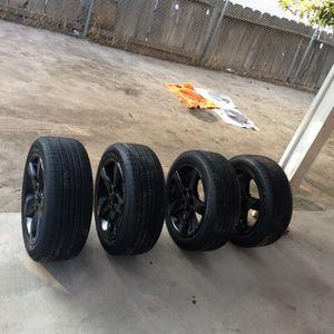 4 Complete Rims , Brand New 225/50R17🏎 for Sale in Visalia, CA