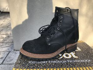 Georgia Logger Black Suede/Leather boot for Sale in Renton, WA