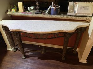 Real maitland smith console table for Sale in Columbus, OH