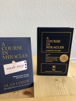 A course of miracles book set for Sale in Lakewood, CO