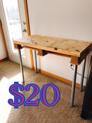 Upcycled pallet Console table for Sale in Portland, OR