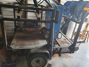 Carpet Cleaning / Pressure Washing/ Air Compressor Custom Trailer for Sale in Houston, TX