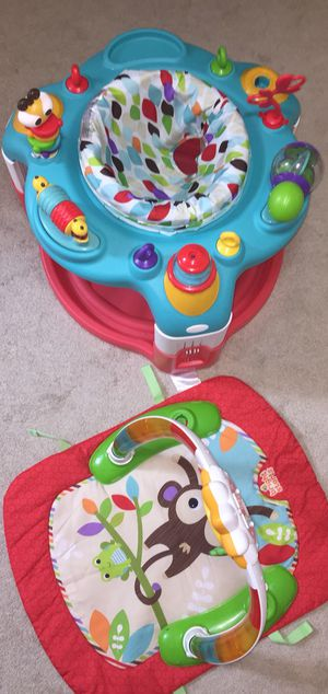 Best offers—2 In 1 Activity gym and saucer for Sale in Fairfax, VA