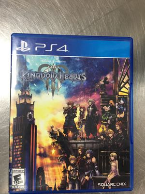 Kingdoms hearts for PS4 for Sale in Orlando, FL