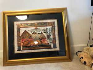 Picture and picture frame for Sale in Fairfax, VA