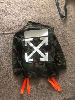 Off -white jacket Size L for Sale in Galloway, NJ