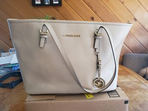 Michael Kors Blush Pink Saffiano Leather Tote for Sale in Stoughton, MA