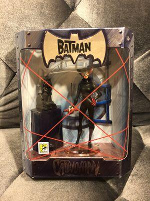 SDCC 2005 Mattel Exclusive The Batman CATWOMAN Action Figure NIP Seline Kyle for Sale in Fresno, CA