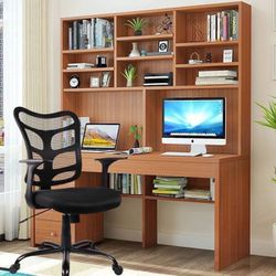 New Smugdesk Ergonomic Mid Back Mesh Office Chair Black for Sale in Los Angeles,  CA