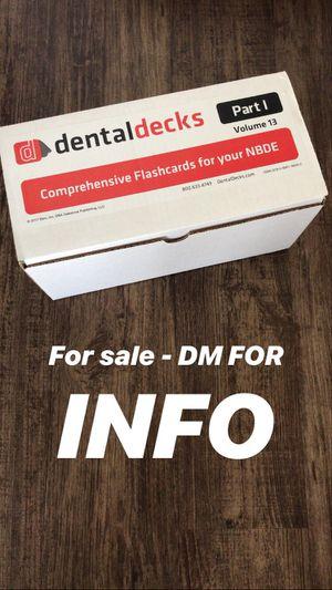 Dental decks 2017 for Sale in Gardena, CA