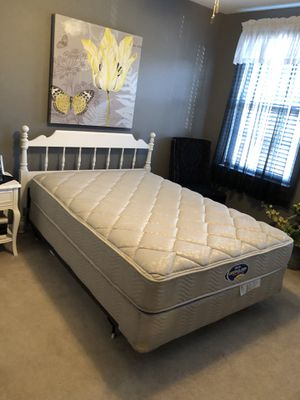 Full/double bed, headboard, sheets for Sale in Ashburn, VA