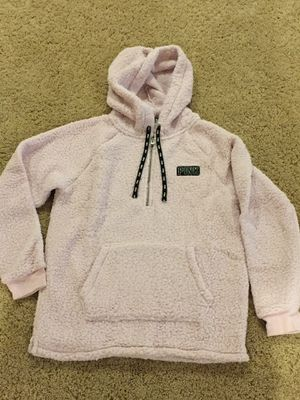 Brand new PINK light pink Sherpa hoodie small was $80 for Sale in Hartford, WI