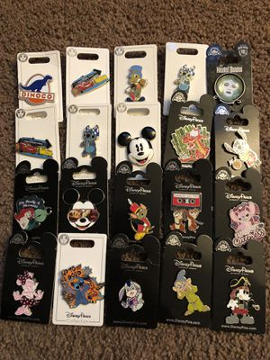 Authentic Disneyland Disney pins!!! $8 EACH for Sale in Chula Vista, CA