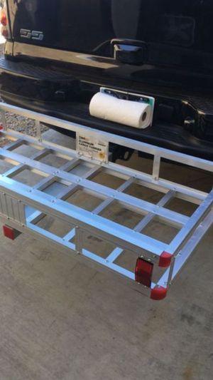Aluminum Cargo Carrier + 🔒 lock for Sale in Tampa, FL