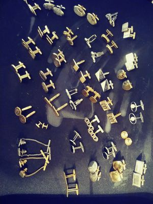 Vintage cuff links and tie pins for Sale in Winter Haven, FL