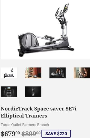 NordicTrack Space saver SE7i Elliptical Trainers for Sale in Farmers Branch, TX