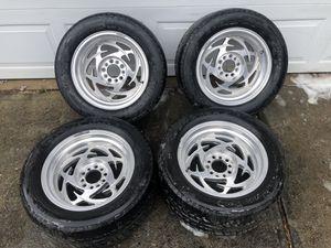 "16x8"" American Eagle 203 Aluminum Wheels - 5x4.75 & 5x4.5 for Sale in Conyers, GA"