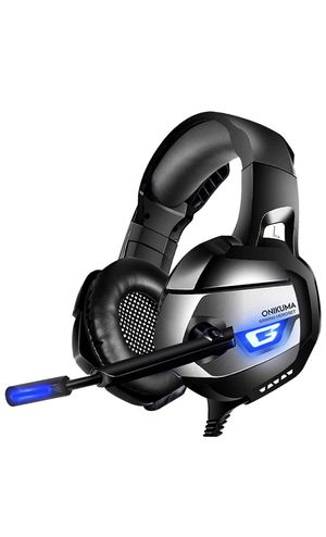 ONIKUMA Gaming Headset for PS4, Xbox One, PC, Gaming Headphones with 7.1 Stereo Surround Sound, Updated Noise Cancelling Mic, PS4 Headset Xbox Headse for Sale in New York, NY