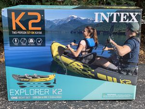 Inflatable Kayak - Explorer K2 (Two Person) for Sale in Orland Park, IL