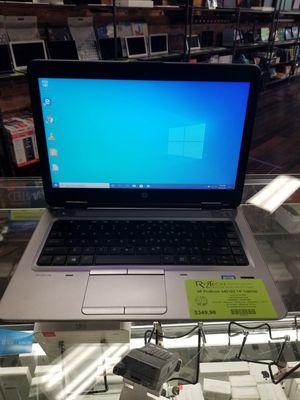 "HP ProBook 640 G2 14"" Laptop i5 8GB RAM 256GB SSD Webcam DVD-RW WiFi Bluetooth Windows 10 Pro for Sale in Medina, OH"