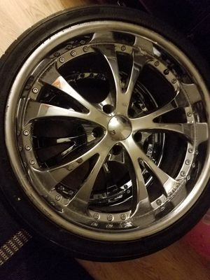 20 in rims&tires for Sale in Tacoma, WA