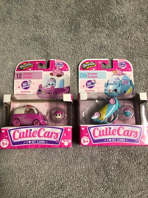 Unopened Shopkins Cutie Cars for Sale in West Palm Beach, FL