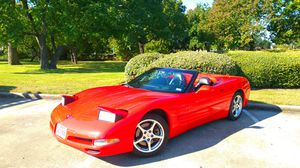 2000 Chevy Corvette Convertible. NO REPAIRS NEVER HAD ACCIDENT BARLEY DRIVEN for Sale in Houston, TX