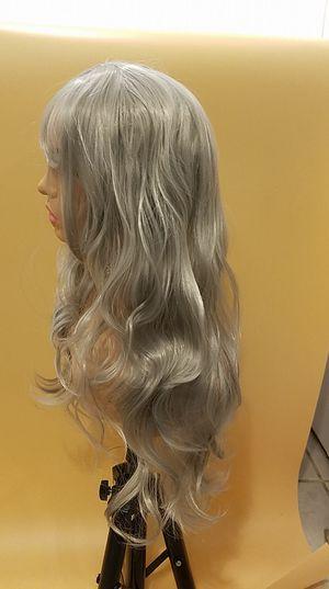Long Gray Wavy Wig for Sale in Hudson, FL