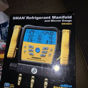 Sm-380-v new in box. Freon refrigerant. Hvac r-22 / 410-a for Sale in Las Vegas, NV
