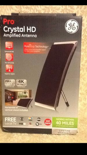 Pro Crystal HD Amplified Antenna for Sale in Chino, CA