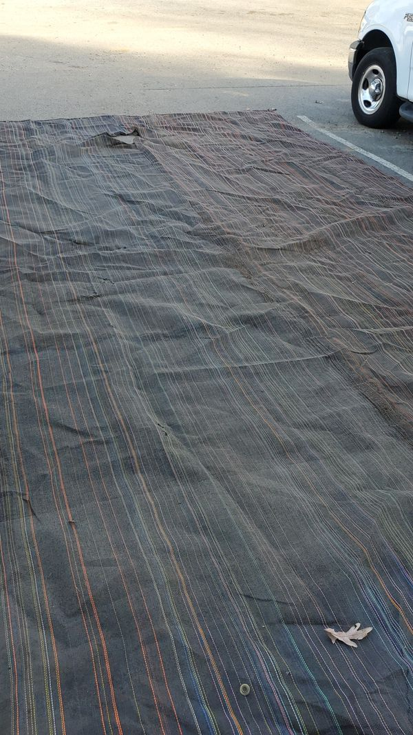 tarps for any use, or leaf vacuum