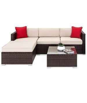 5 Piece Patio Sofa Outdoor Furniture Set for Sale in Hacienda Heights, CA