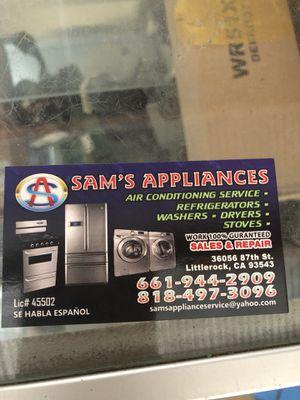 APPLIANCE REPAIR/ REPARACIONES DOMÉSTICAS for Sale in Juniper Hills, CA