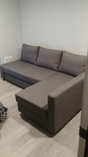 Ikea FRIHETEN Dark Grey Bed Couch for Sale in Seattle, WA