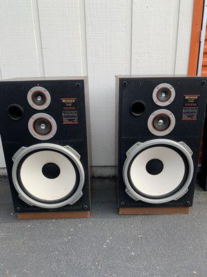 Huge Vintage ST-832 Fisher Speakers ! for Sale in Auburn, WA